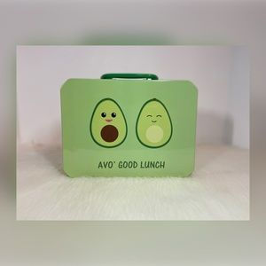 🆕 Avo' Good Lunch Metal Lunch Box